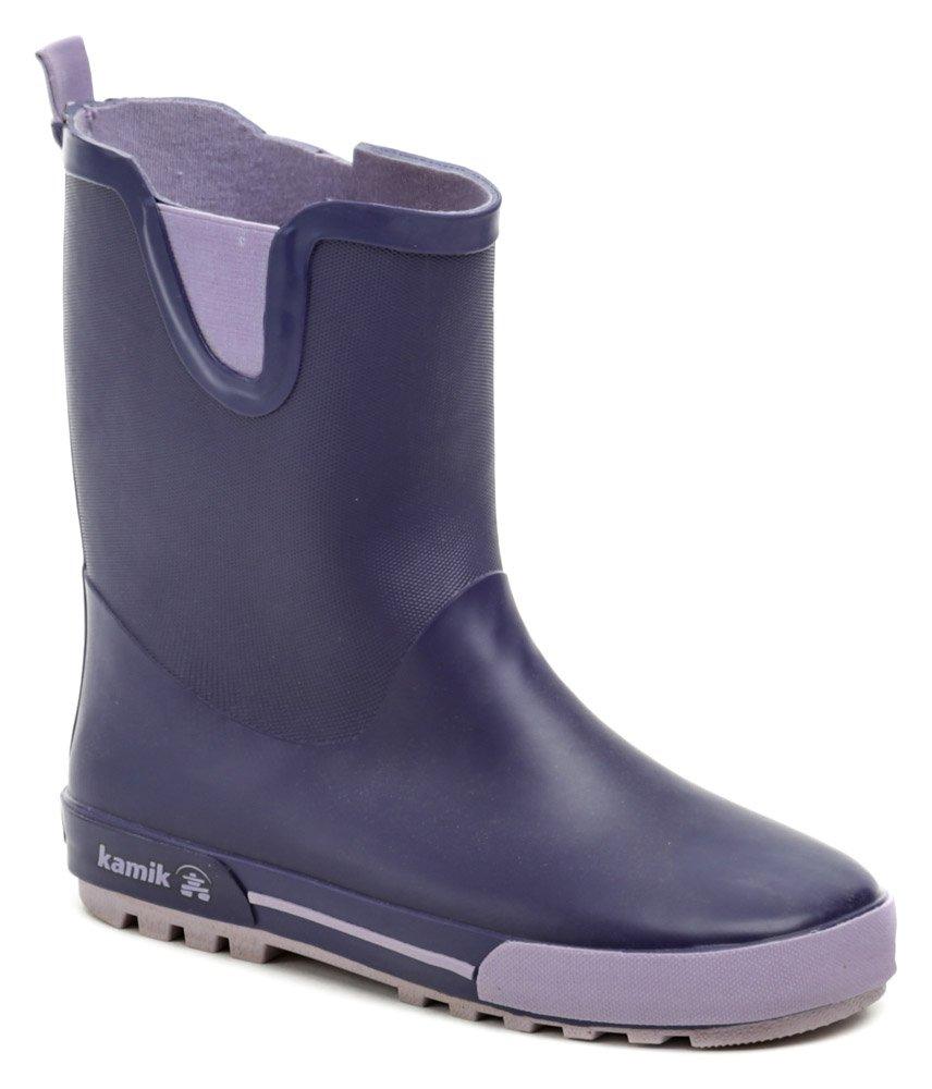 KAMIK RAINPLAY fialové čižmy EUR 33