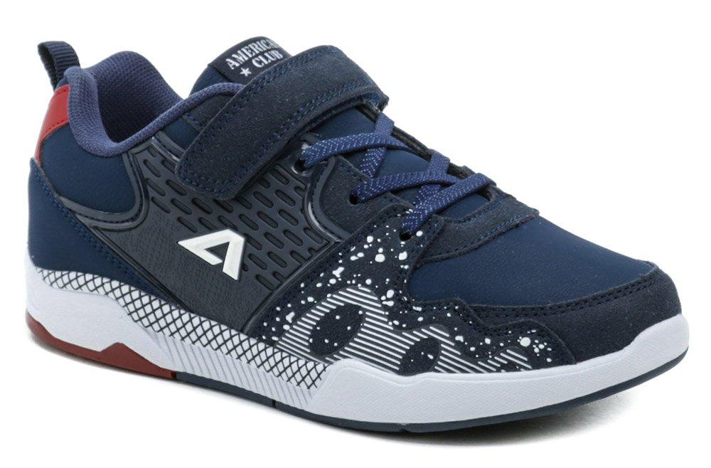 American Club BS09-21 modré tenisky EUR 28