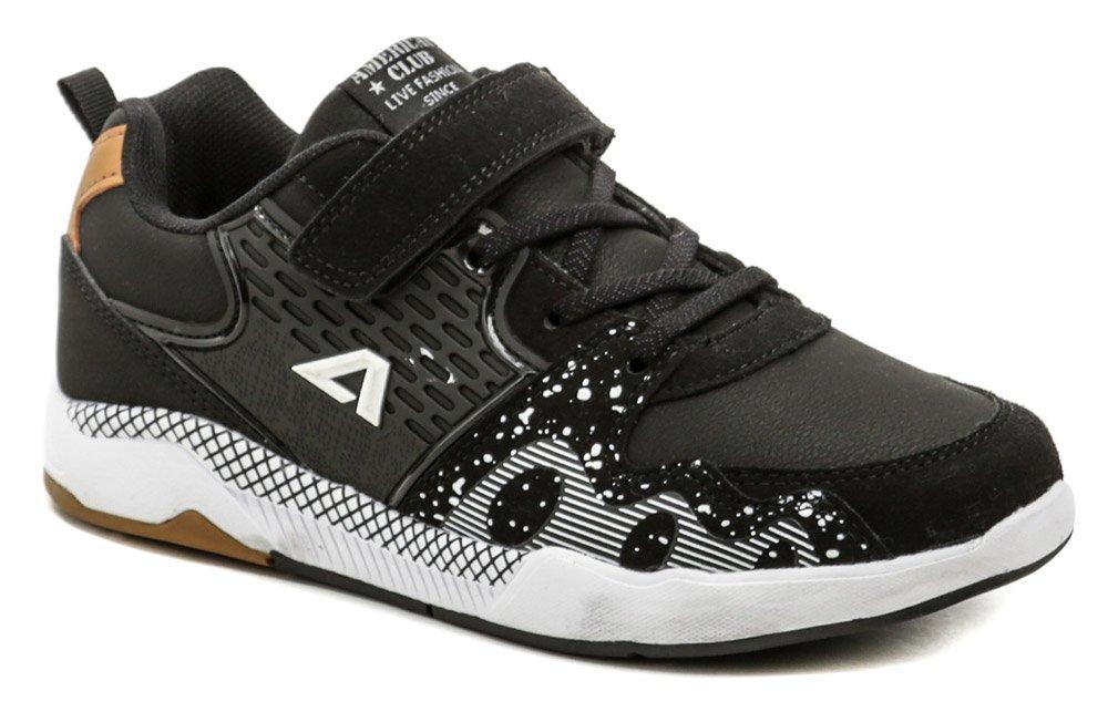 American Club BS09-21 čierne tenisky EUR 31