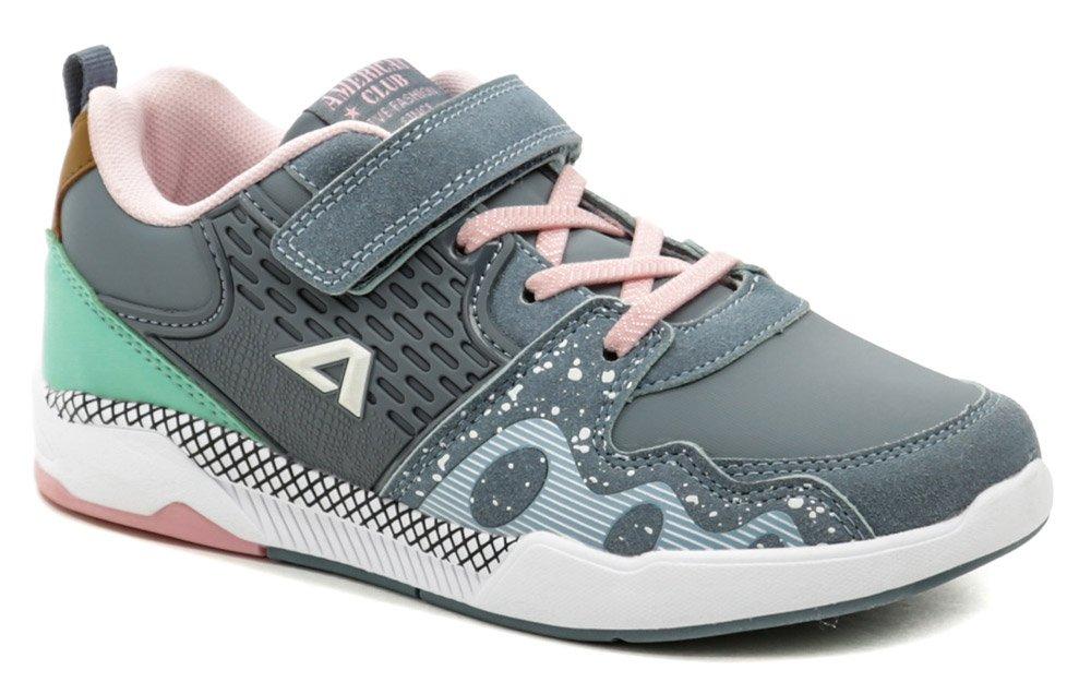 American Club BS06-21 šedo ružové tenisky EUR 32
