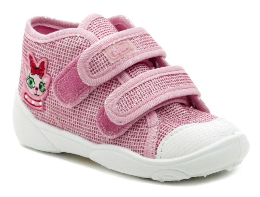 Befado 212P056 ružové detské plátené tenisky EUR 23