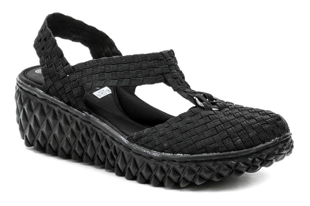 Rock Spring INKA čierna gumková obuv na kline EUR 39