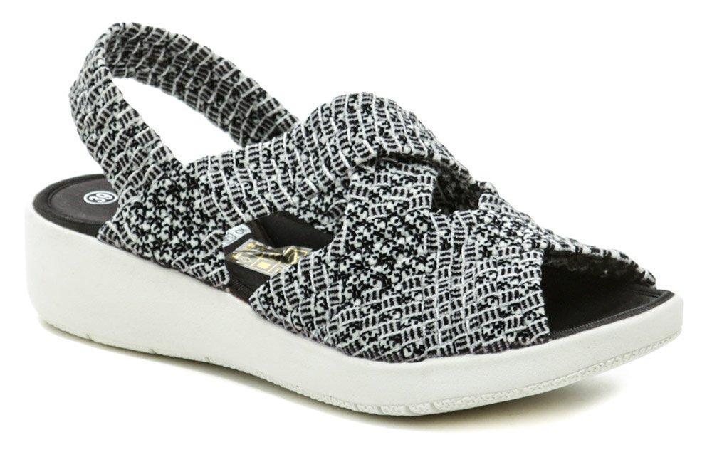 Rock Spring MINILY Sashiko gumičkova obuv na kline EUR 38