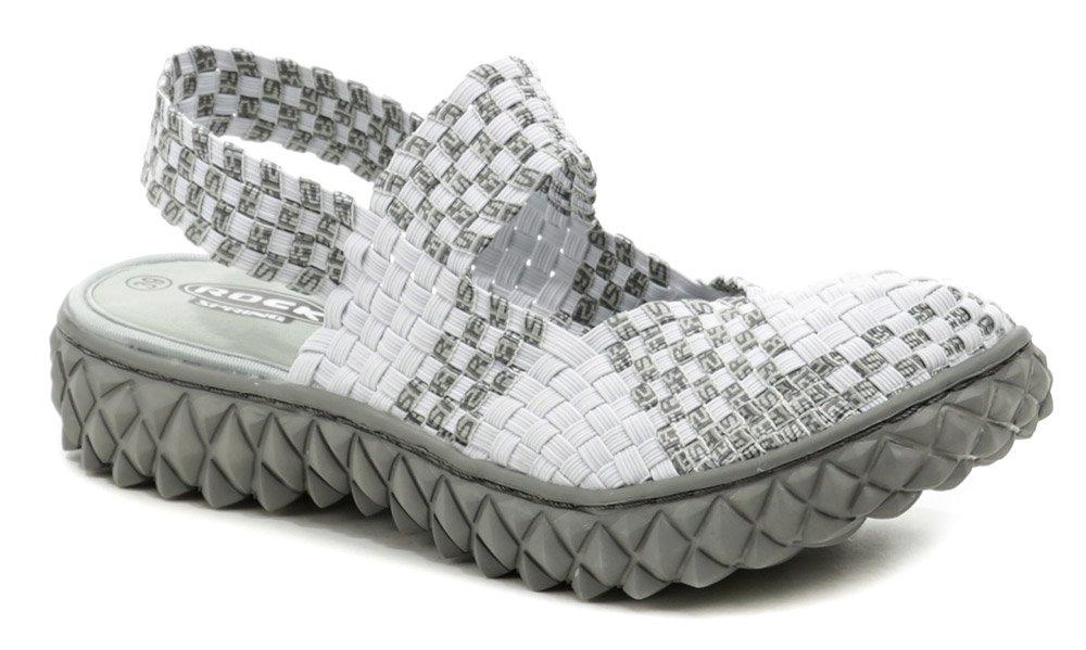 Rock Spring OVER SANDAL White RS dámska obuv z gumičiek EUR 39