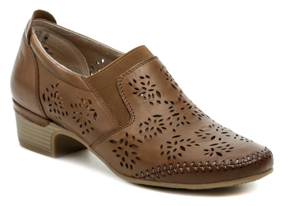 Jana 8-24315-26 hnědá dámská nadměrná obuv EUR 45