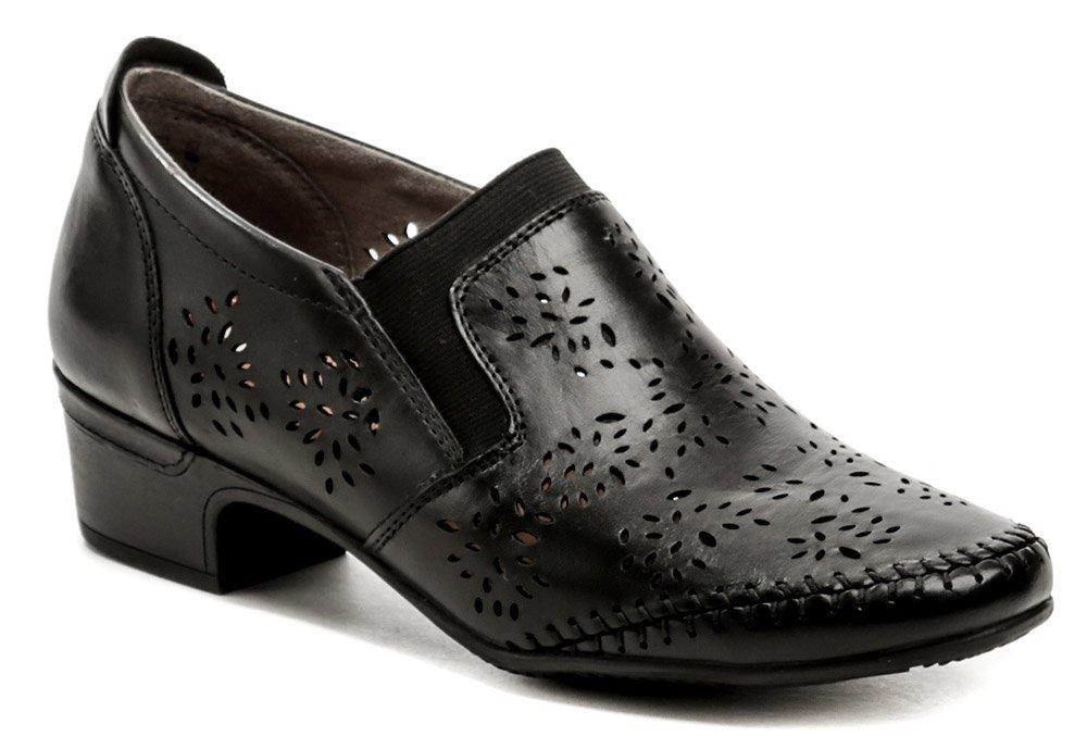 Jana 8-24315-26 černá dámská nadměrná obuv EUR 45