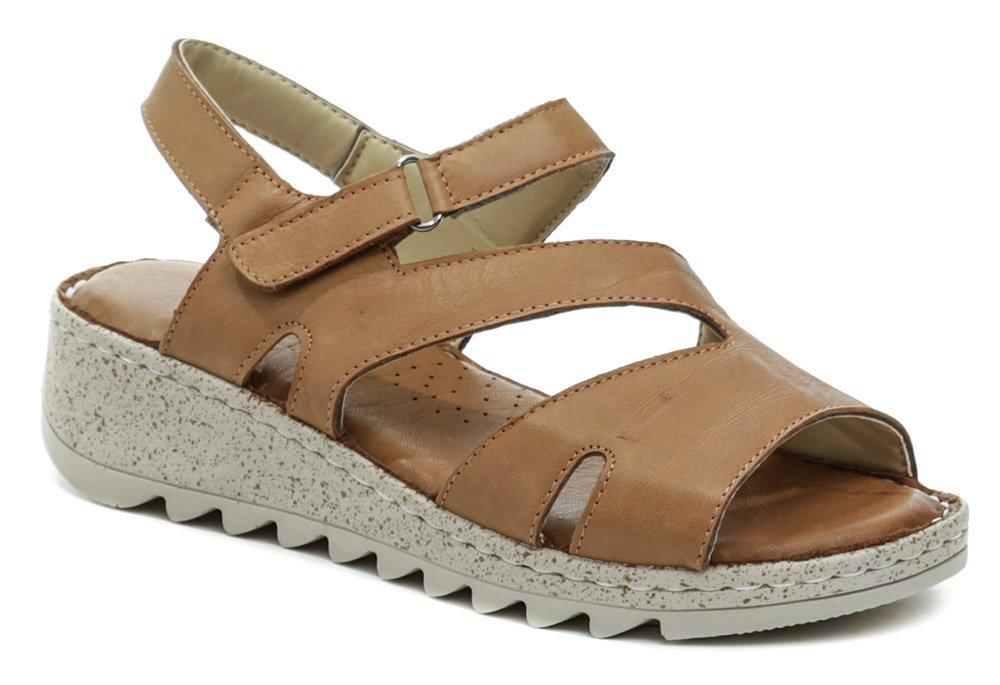 Wild 16970B-01 hnedé dámske sandále EUR 39