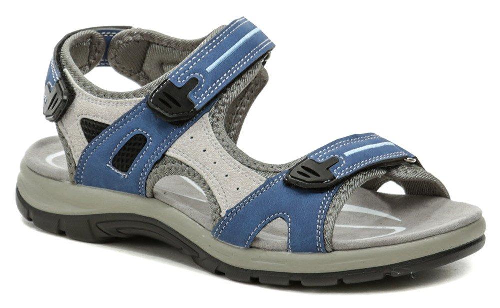 Scanda 251-2094-D1 modré dámske sandále EUR 36