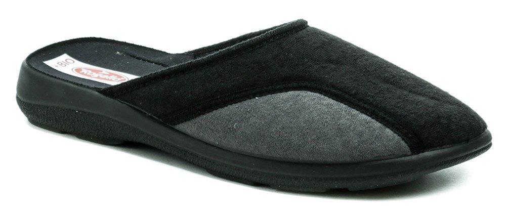 Rogallo 26239 čierno šedé pánske papuče EUR 46