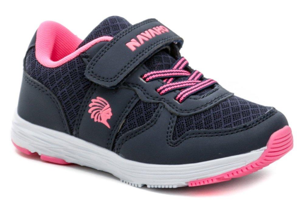 Navaho N6-507-31-01a navy ružové detské tenisky EUR 35