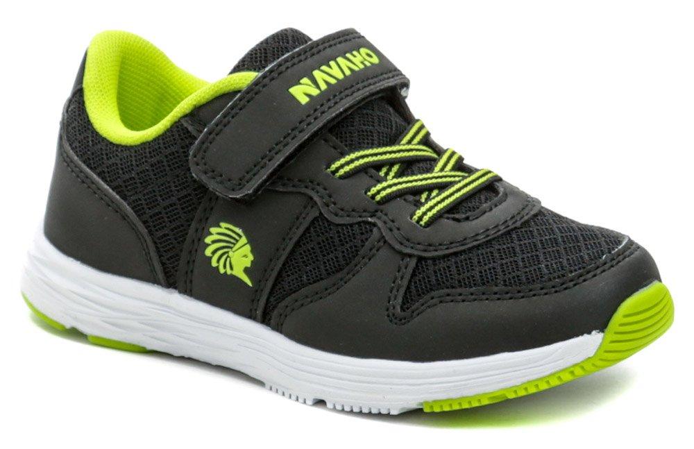 Navaho N6-507-36-01 čierno zelené detské tenisky EUR 26