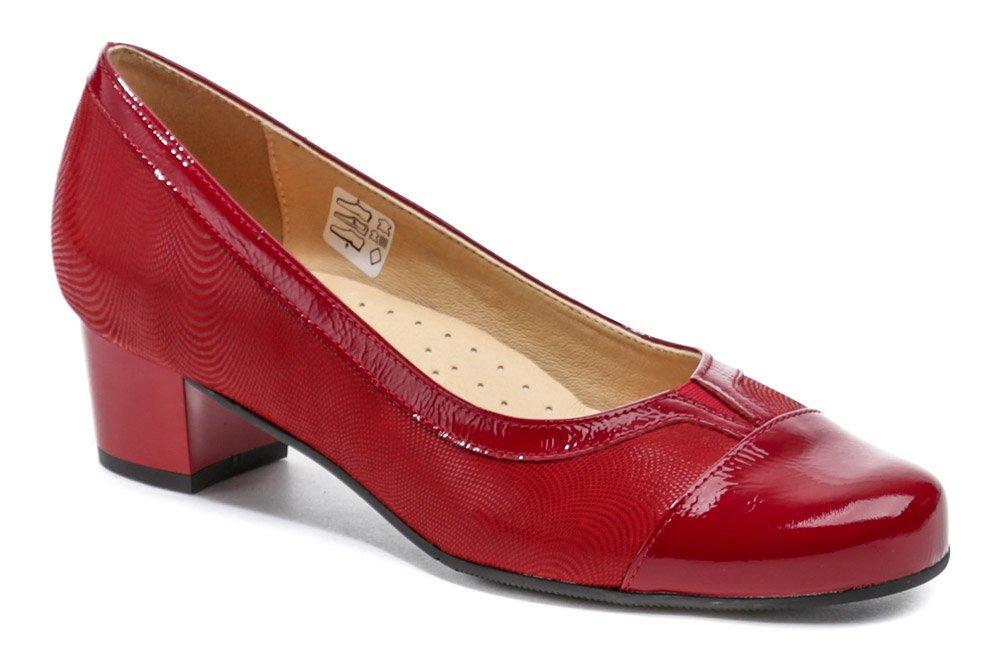 Mintaka 1211-3 červené dámske lodičky EUR 37