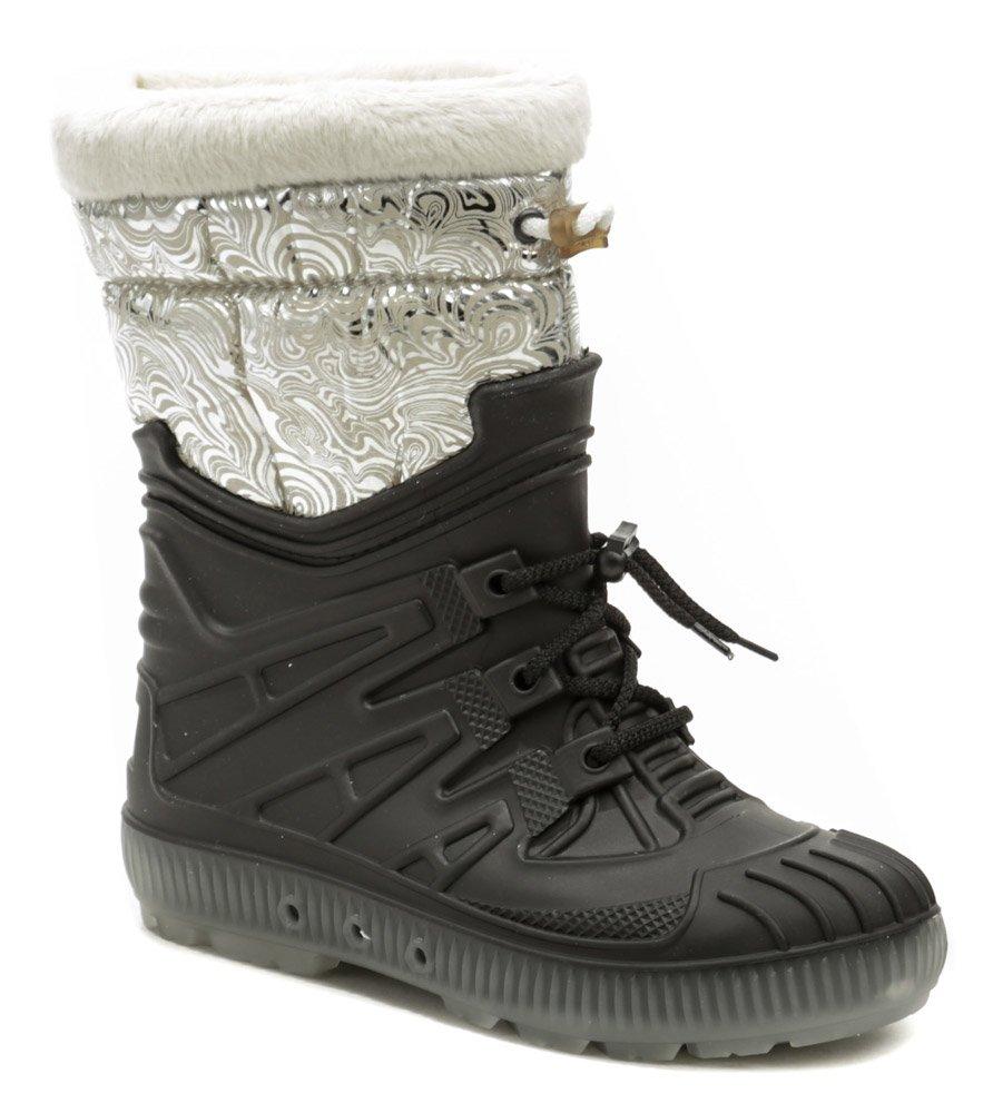 Top Lux 9523 čierno strieborné dámske snehule EUR 39