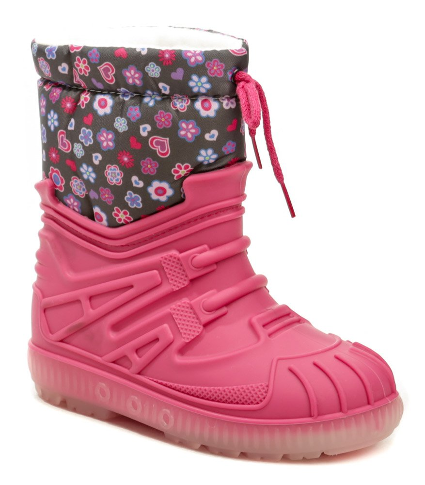 Top Bimbo 663LA květ růžové dětské sněhule EUR 33