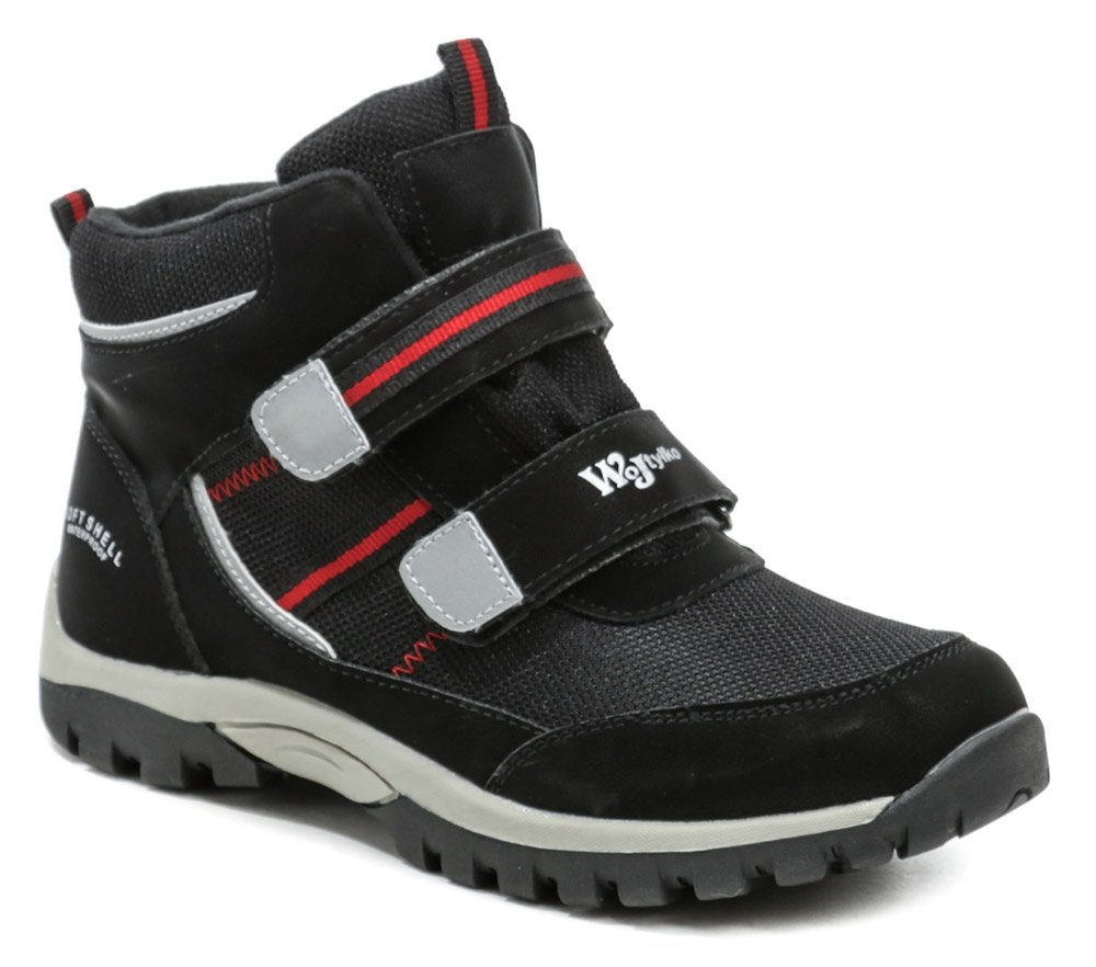 Wojtylko 6Z21040 čierne detské členkové topánky EUR 33