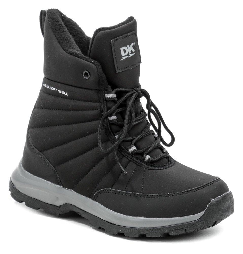 DK 1027 čierne dámske zimné topánky EUR 37
